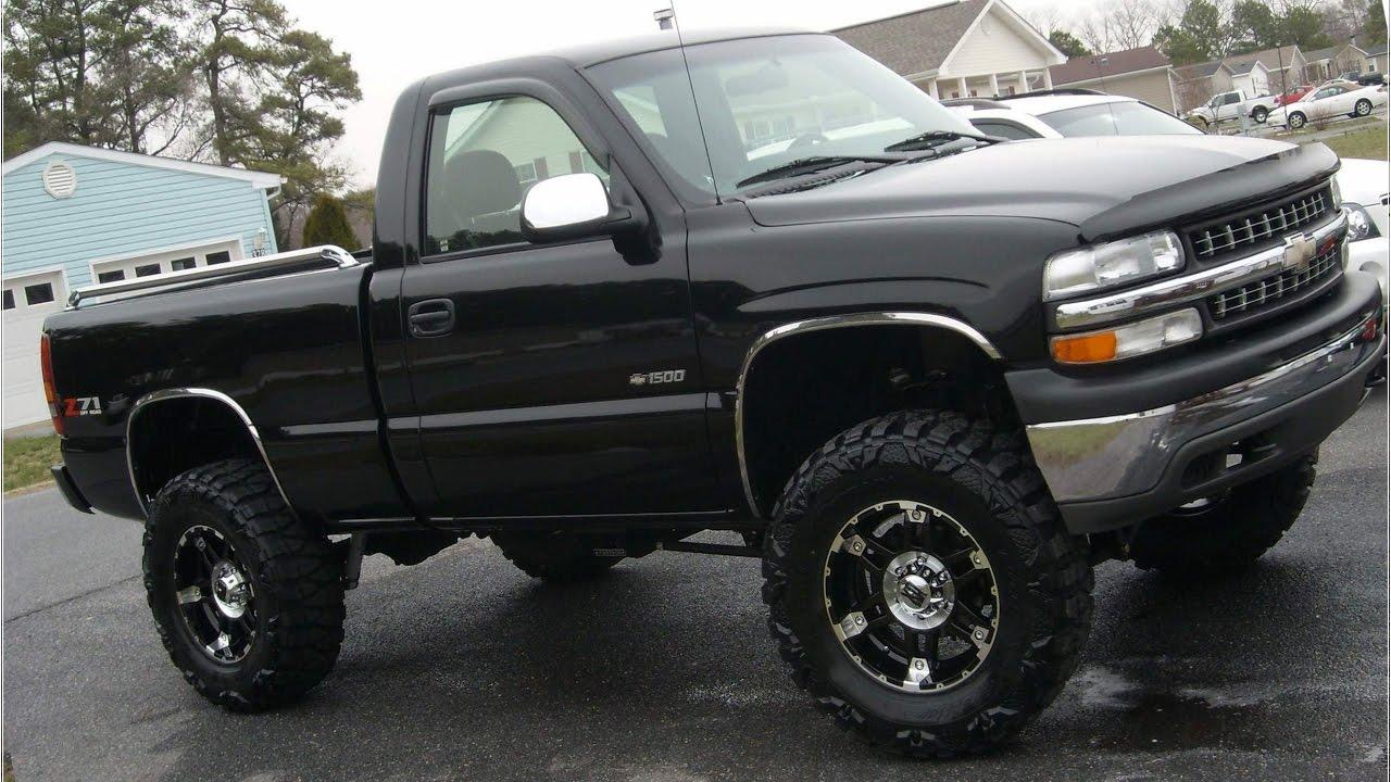 Chevy trucks jacked up