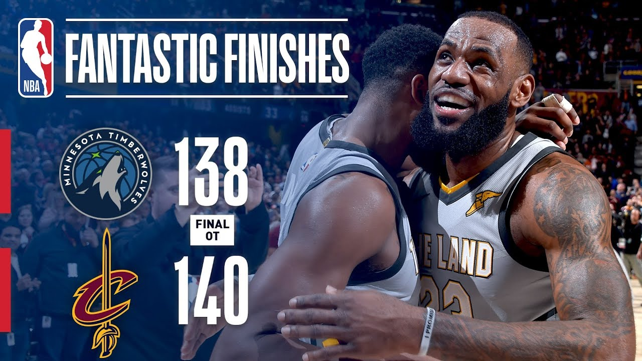 The Timberwolves and Cavaliers Go Down to the Final Sec... | Doovi