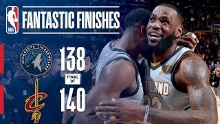 The Timberwolves and Cavaliers Go Down to the Final Seconds | February 07, 2018