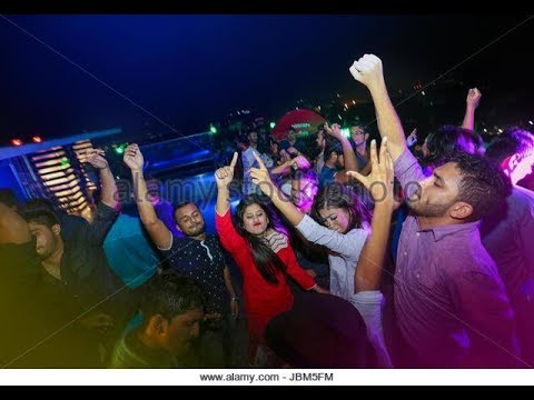 Dhaka Nightlife (Disco party Street)