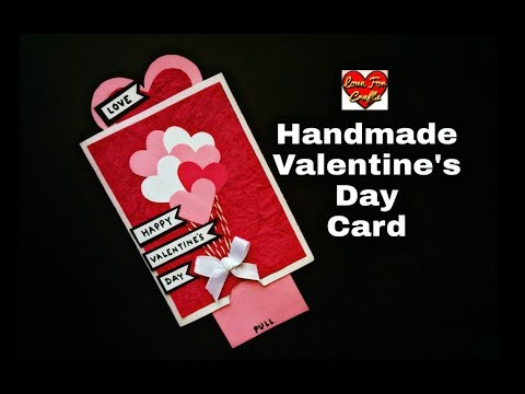 Valentine's Day Card | How to Make Greeting Card for Valentine's Day