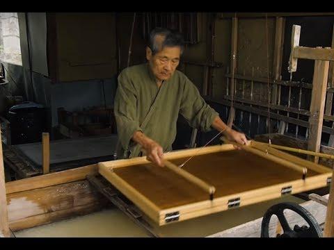 手技TEWAZA「美濃和紙」mino washi paper/伝統工芸 青山スクエア Japan traditional crafts Aoyama Square