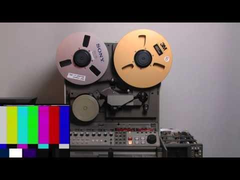 "Ampex VPR-6 Type C 1"" NTSC VTR"
