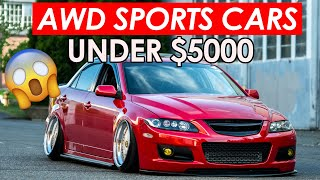 Top 5 Cheap Awd Sports Cars Under 5k Youtube