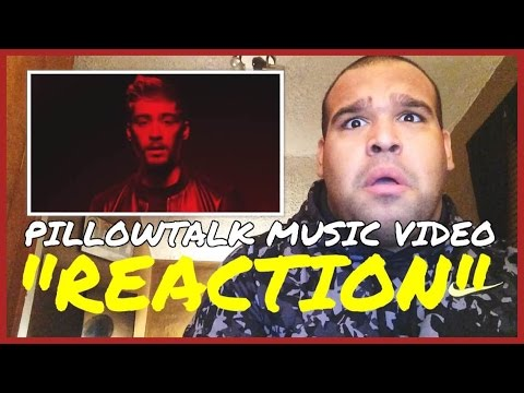 ZAYN MALIK - PILLOWTALK MUSIC VIDEO [REACTION]