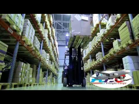 Air Freight Cargo india company Video