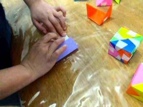 ハート 折り紙:折り紙 サイコロ 折り方-youtube.com