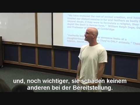 Gary Yourofsky - neue deutsche Untertitel