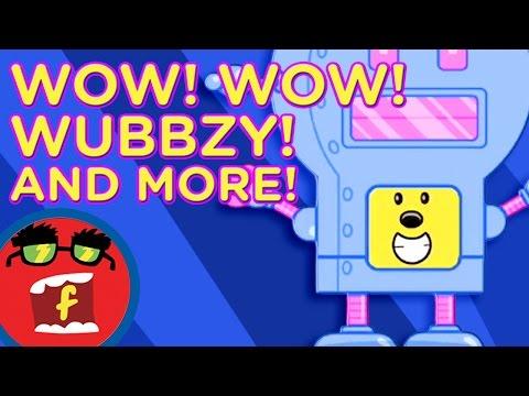 Robot Dance AND MORE! | Fredbot Children's Cartoon (Wow! Wow! Wubbzy!)