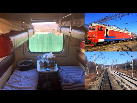 Trans-Siberian Railway Winter Journey - part 2: Belogorsk - Chita on Train № 007Н