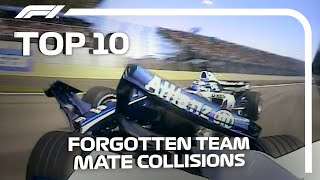 Top 10 Forgotten Team Mate Collisions