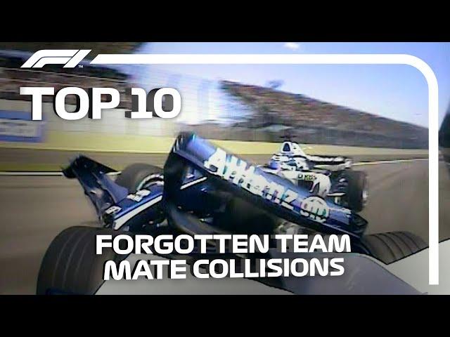 Top 10 Forgotten Team Mate Collisions