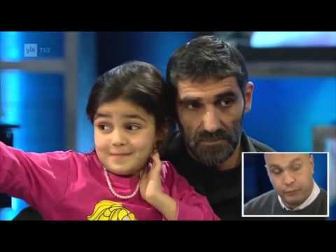 Staged Syrian Refugee Family on YLE TV channel Finland *Media Hoax*