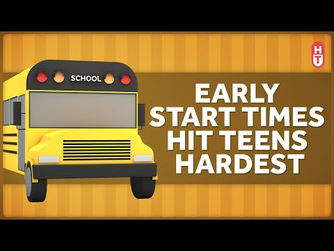 Let The Kids Sleep: The Argument For Starting School Later