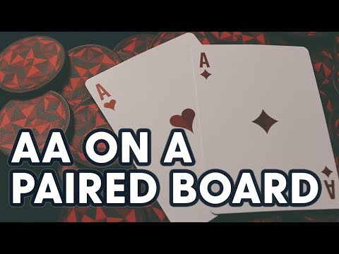 Pocket Aces On A Double-Paired Board | SplitSuit