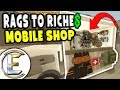 Custom Mobile Shop | Unturned Roleplay Rags to Riches Reboot #21 - Travelling Merchant (RP)