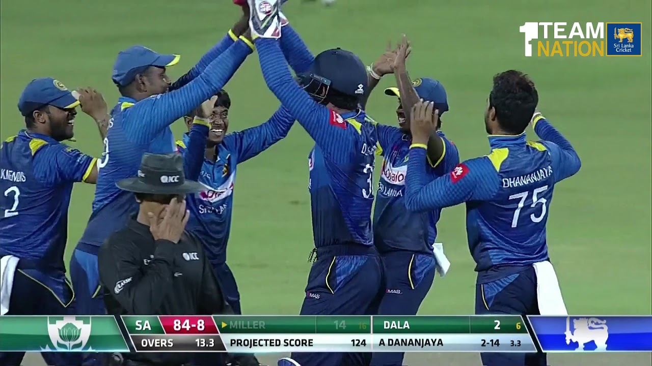 Only T20i Highlights Sri Lanka Beat South Africa By 3 Wickets