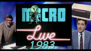 BBC Micro Live (1983) Part 1! (With the very first live hack on TV!)