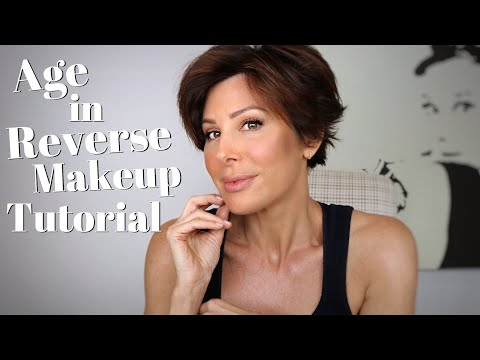 Age In Reverse Makeup Tutorial | Dominique Sachse