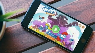 let's play 'Смурфики: Легендарный забег' для iOS/Android