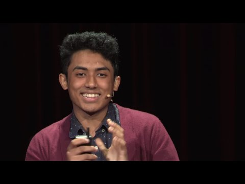 7,667 miles later...and now I'm here. | Aaron Satyanarayana | TEDxYouth@Salem