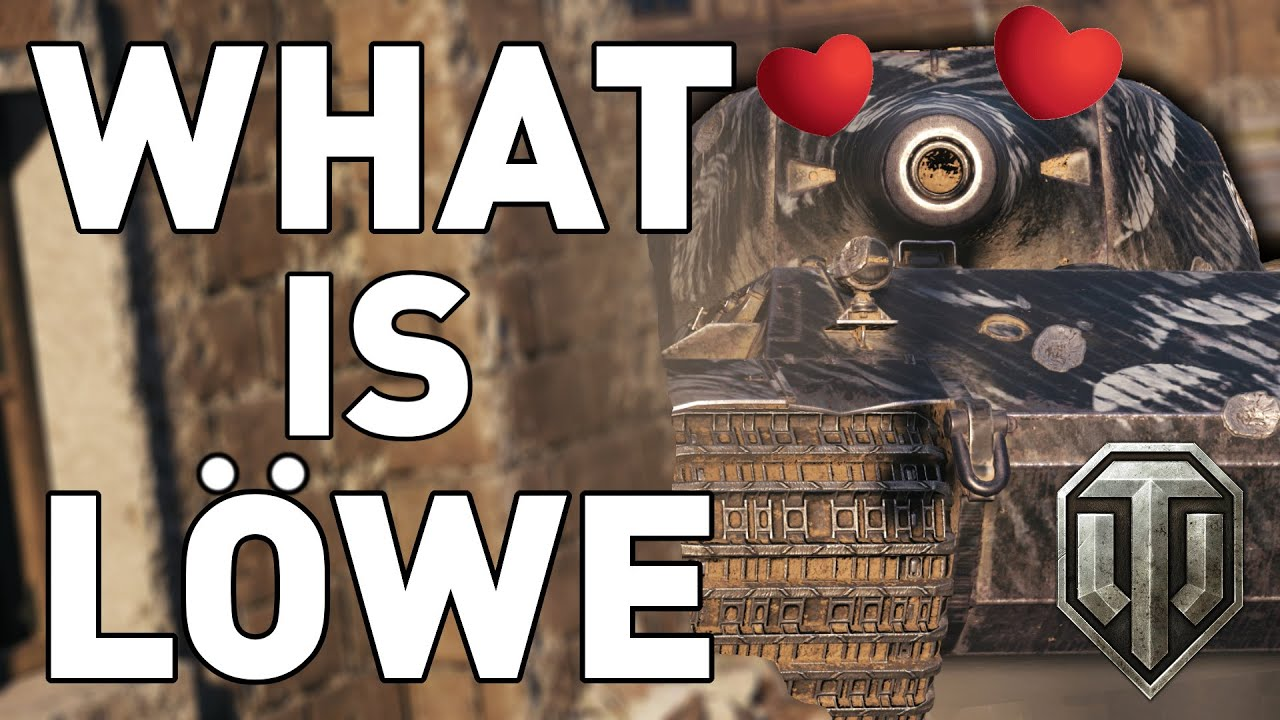 WHAT IS LÖWE - World of Tanks thumbnail