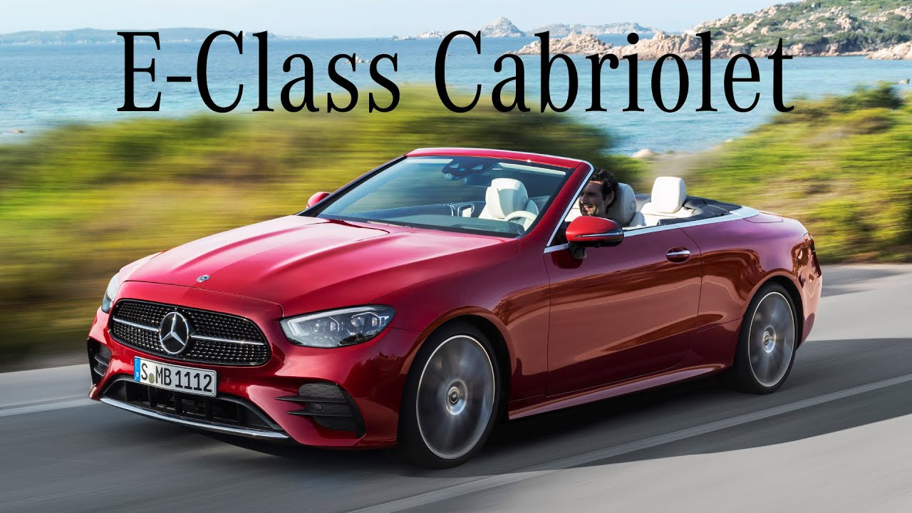 2021 Mercedes-Benz E-Class Cabriolet – Gets refreshed new tech and styling - TopSpeed Media