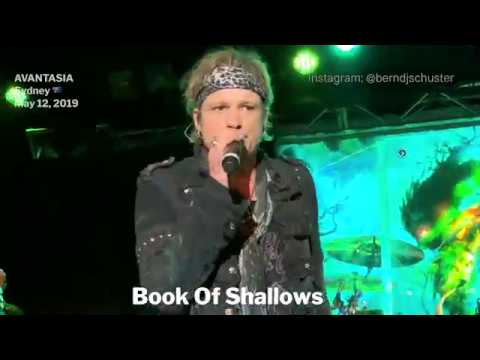 AVANTASIA - Book Of Shallows @The Metro Theatre, Sydney - May 12, 2019 LIVE 4K