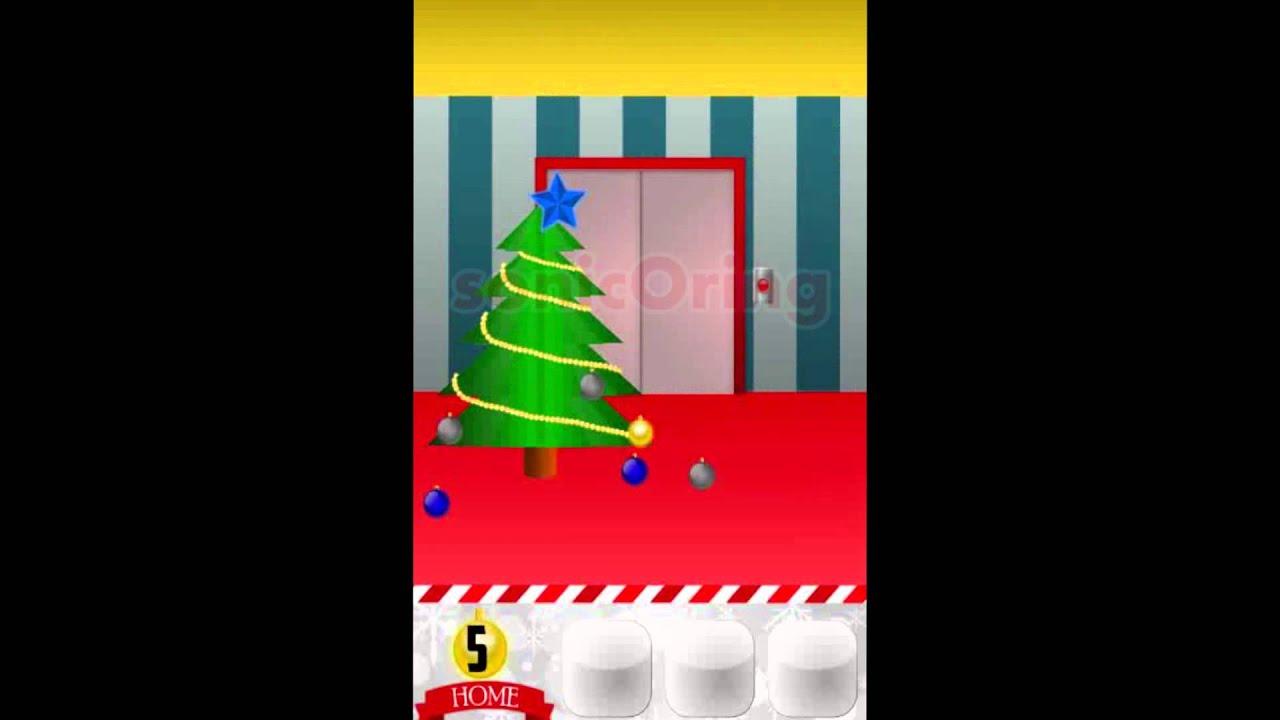 100 Floors Of Christmas Level 1 2 3 4 5 6 7 8 Cheats Youtube