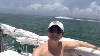 Cruising top to bottom of Biscayne Bay, Florida:  The Sailing Rode