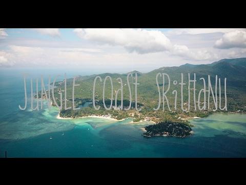 Jungle Island Coast - Sri Thanu Koh Phangan DJI Mavic 4K