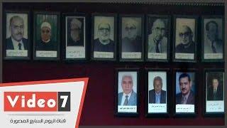 جامعة الأزهر تتجاهل وضع صورة عبد الحى عزب ضمن لوحة شرف رؤساءها
