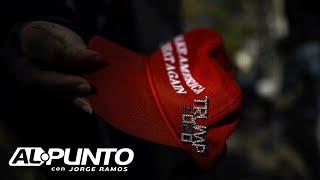 """""""Hispanos de la frontera por Trump"""": tres hispanos le cuentan a Jorge Ramos por qué apoyan al presid"""