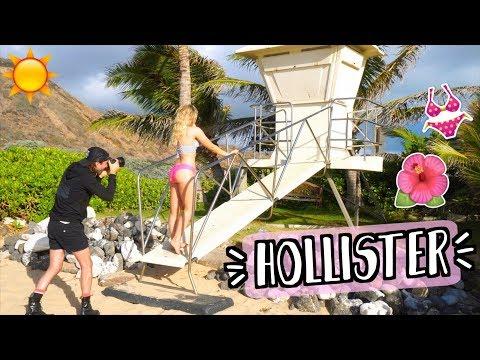 Download Youtube: Doing a BIKINI Photoshoot?! Behind the Scenes as a Hollister Swim Model! Alisha Marie