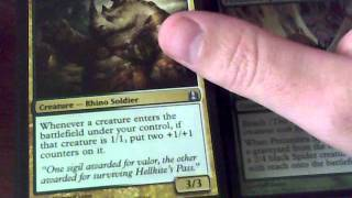 Unboxing of Counterpunch, Magic the Gathering Commander Deck