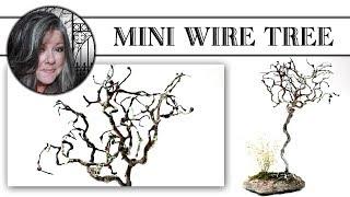 🌿Mini Wire Tree Tutorial🌿
