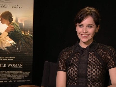 Felicity Jones Talks 'The Invisible Woman' and 'The ...