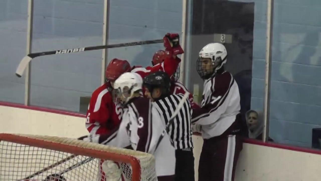 NCCS - Saranac Lake Hockey  12-14-11