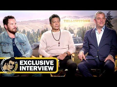 Danny Huston, Gil Birmingham & Cole Hauser YELLOWSTONE s! JoBlo.com Exclusive