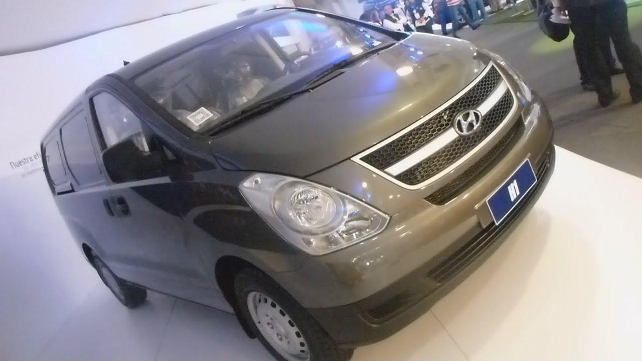 Hyundai H1 2013 Salón Automóvil Bogota 2012 FULL HD