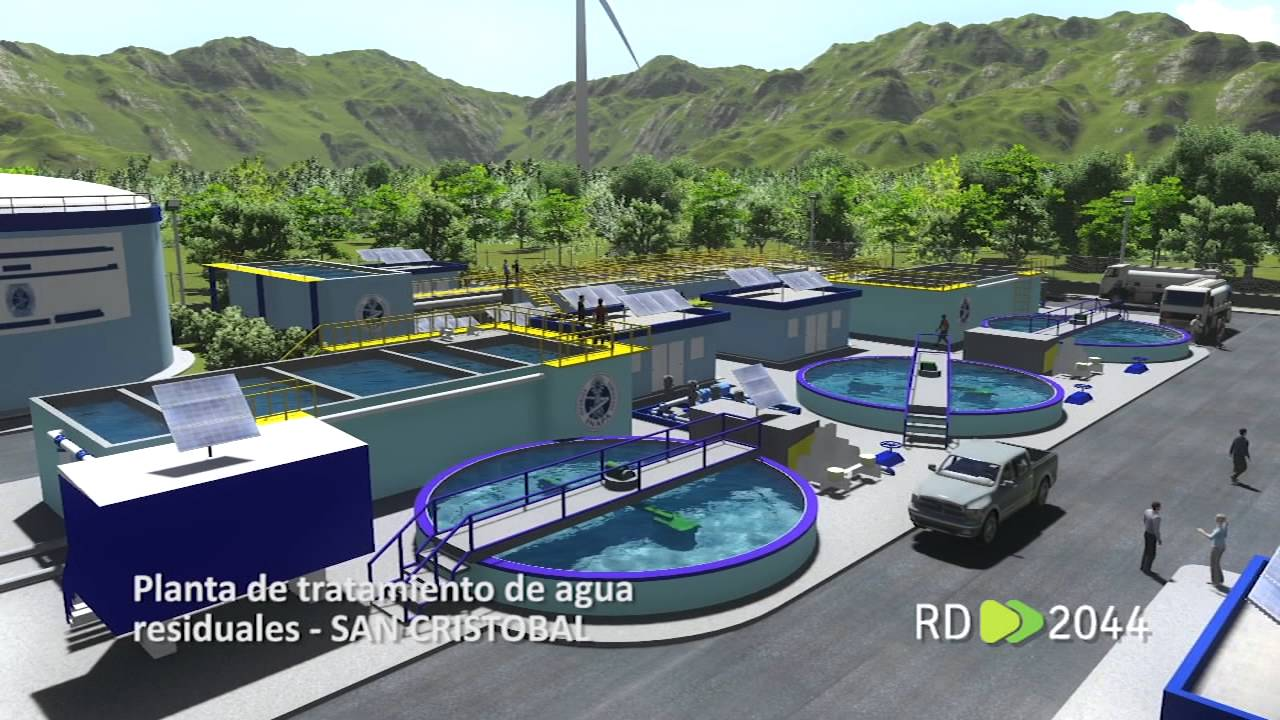 Planta de tratamiento de agua residuales san cristobal - Tratamiento de agua ...