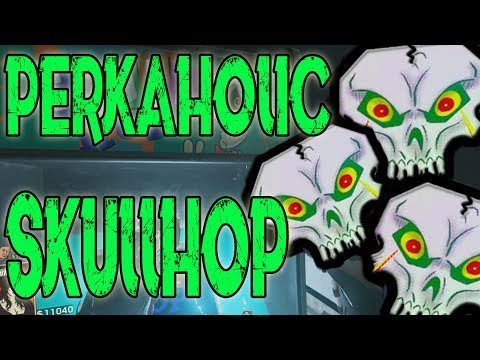 SKULLHOP PERKAHOLIC | ALLE PERKS | ATTACK OF THE RADIOACTIVE THING