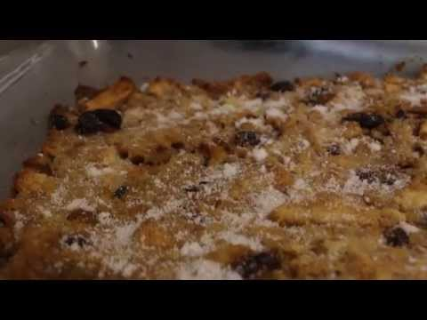 RATION BOOK BAKING: BREAD & BUTTER PUDDING