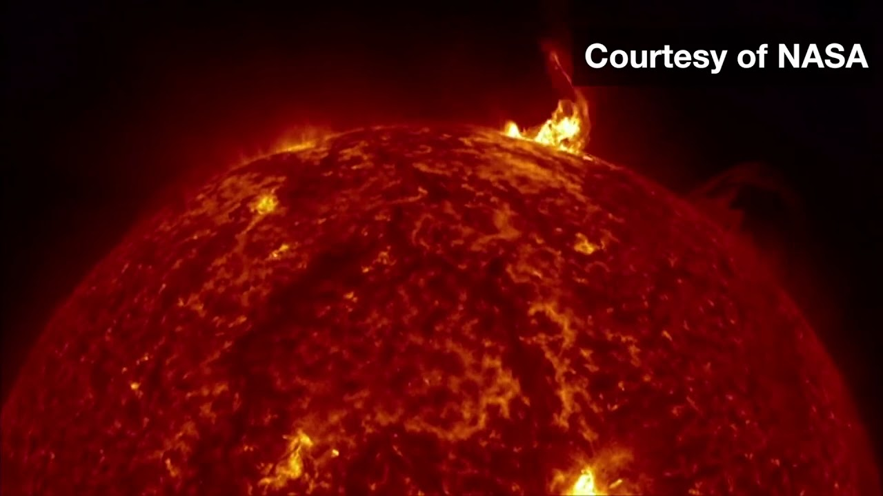Nasa Captures Incredible 4k Images Of The Sun Bbc News Bbc