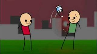 Cyanide And Happiness- Can Of Paint