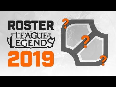 Roster League of Legends 2019 | Presentación Oficial thumbnail