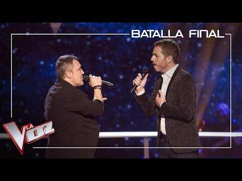 Andrés Balado y Ángel Cortés cantan 'You are so beautiful' | Batalla final | La Voz Antena 3 2019