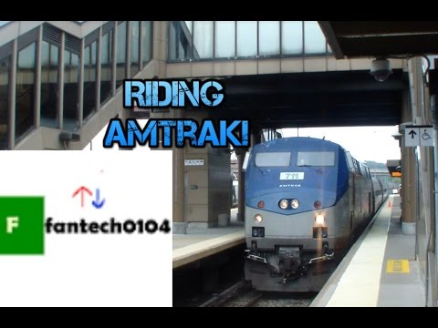 Riding Amtrak Train #280 on the Empire Corridor from Croton-Harmon to Penn Station