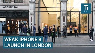 Gambar cover Underwhelming Turnout For Apple's London iPhone 8 Release