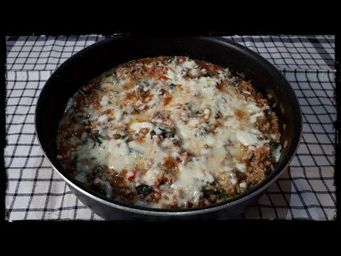 riz-au-bœuf-haché-et-mozzarella-🍚#92-(one-pot-rice)